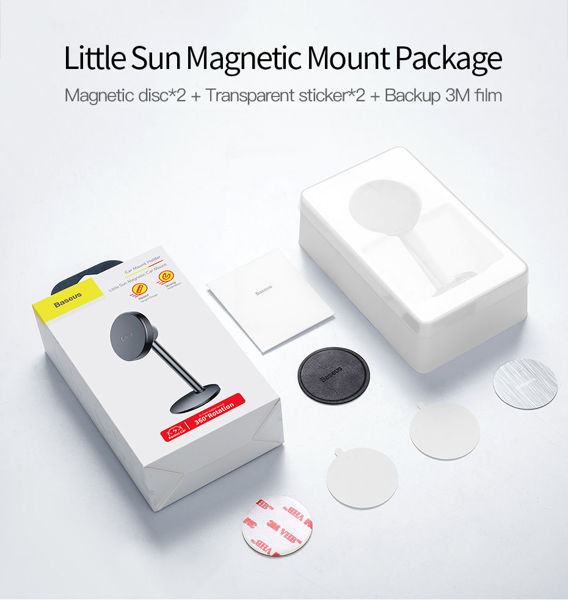 Magnetic Car Phone Holder Stand Mount