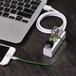 "USB hub ""HB1"" USB-A to four ports USB 2.0 charging and data sync"