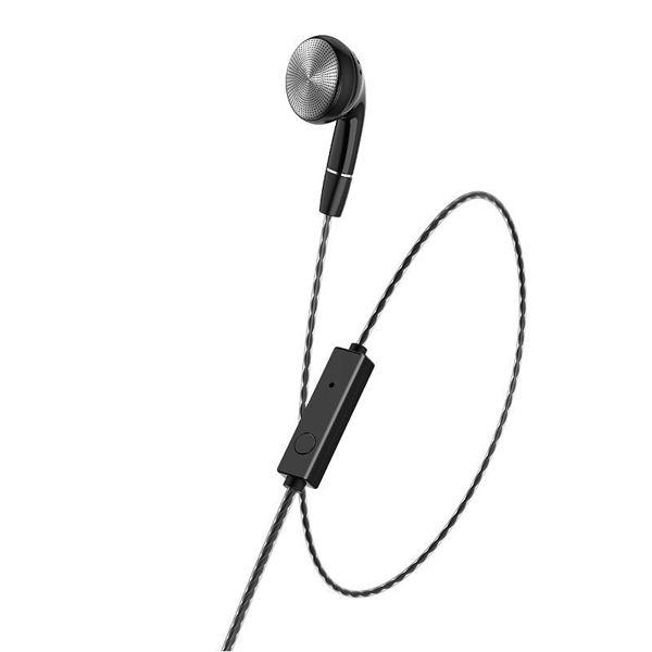 "Wired earphone 3.5mm ""M61 Nice tone"" single ear with microphone"