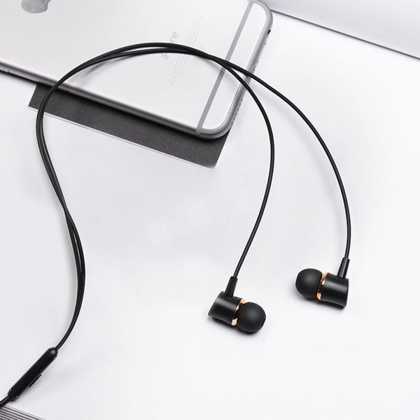"Wired earphones ""M37 Pleasant sound"" with microphone"