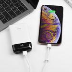 X31 Lightning charging data cable holder – White