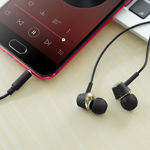 """Wired earphones 3.5mm """"M70 Graceful"""" with microphone"""
