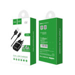 "Wall charger ""C12 Smart"" EU plug double USB charging adapter"