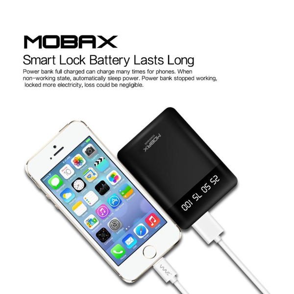 Mobax 10000mAh Double USB Power Bank