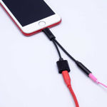 Go Des GD-UC08 2 in 1 Lightning Headphone And Charging Converter Connector