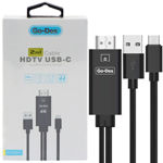 Go Des GD-HM807 2 in 1 Usb-C HDTV Cable
