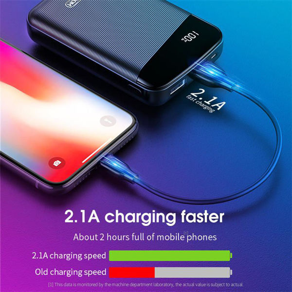 Picture of JOYROOM 10000 mAh Power Bank Portable Powerbanks Charger External Battery Fast Charging Powerbank