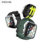 Picture of TGVI's Apple Watch Premium Rubber Strap 42mm 44mm Strap iwatch Apple - Merah Muda