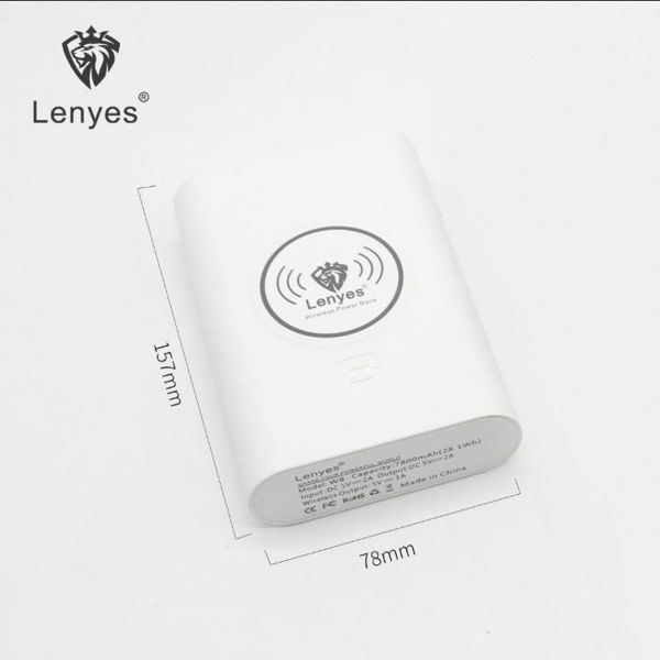 Picture of Lenyes W8 Wireless Charging Power Bank 7800mAh