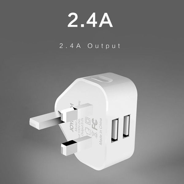 Picture of JOYROOM JR-L206 2.4A Dual USB Ports Wall Charger Adapter