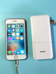 Picture of PZX Power Bank 18000 mAh for all devices, Green, Model :C147, 2USB