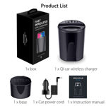 Picture of Universal Fast Wireless Car Charger Cup