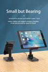 Picture of 10W Fast Wireless Charger Folding desktop Cell phone Holder Stand For iPhone ipad Samsung Tablet Stand Rise fall Adjustable Holder