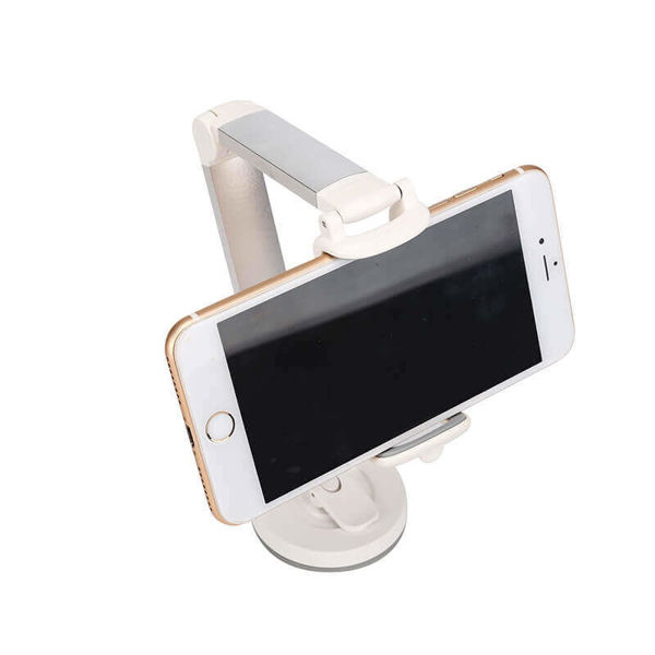 Picture of Long Handle Folding Smartphone Mount Holder