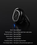 Picture of USAMS US-LS001 Mini Wireless Bluetooth 4.1 Headphone Stereo Noice Reduction In-ear Headset