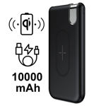 Picture of Baseus THIN VERSION QI WIRELESS Charger / POWER BANK - 10000MAH
